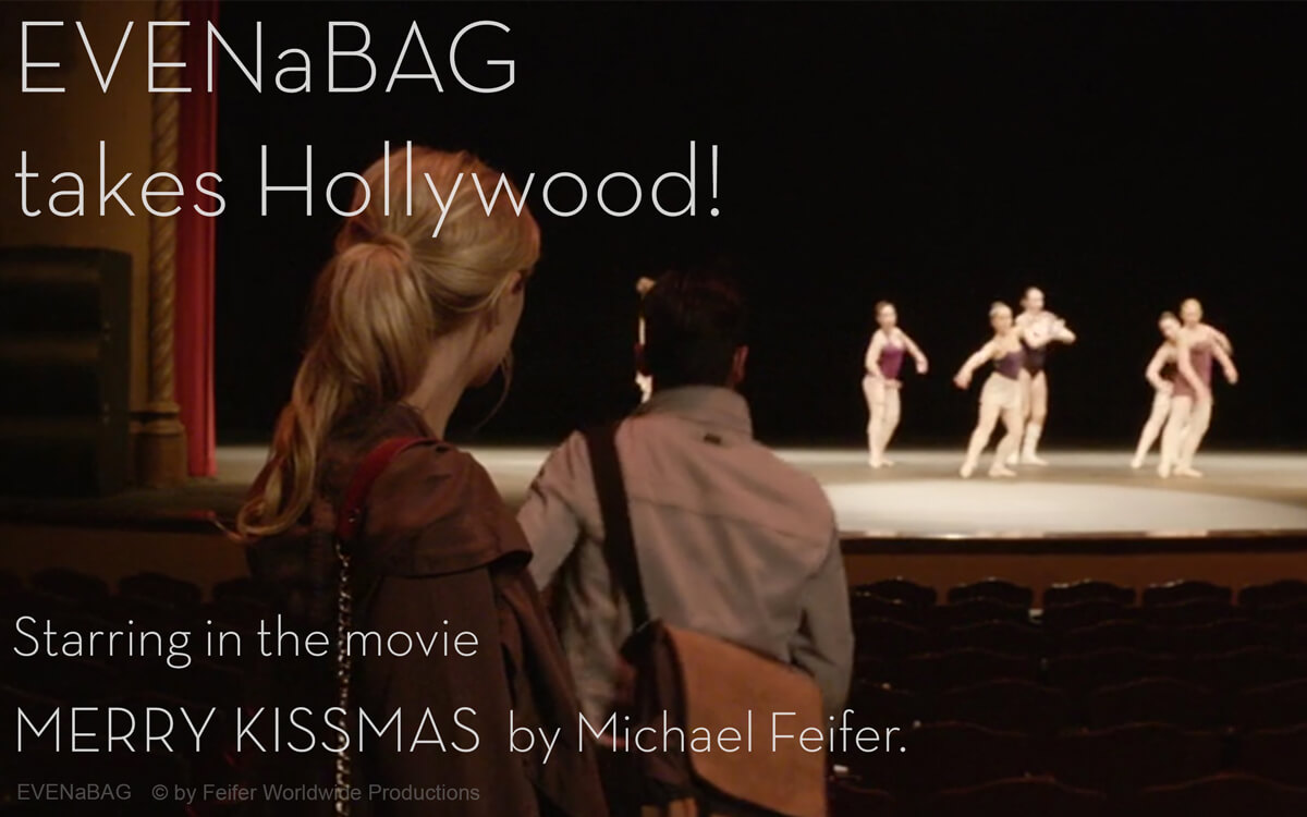 EVENaBAG - Leather bag starring in the movie Merry Kissmas