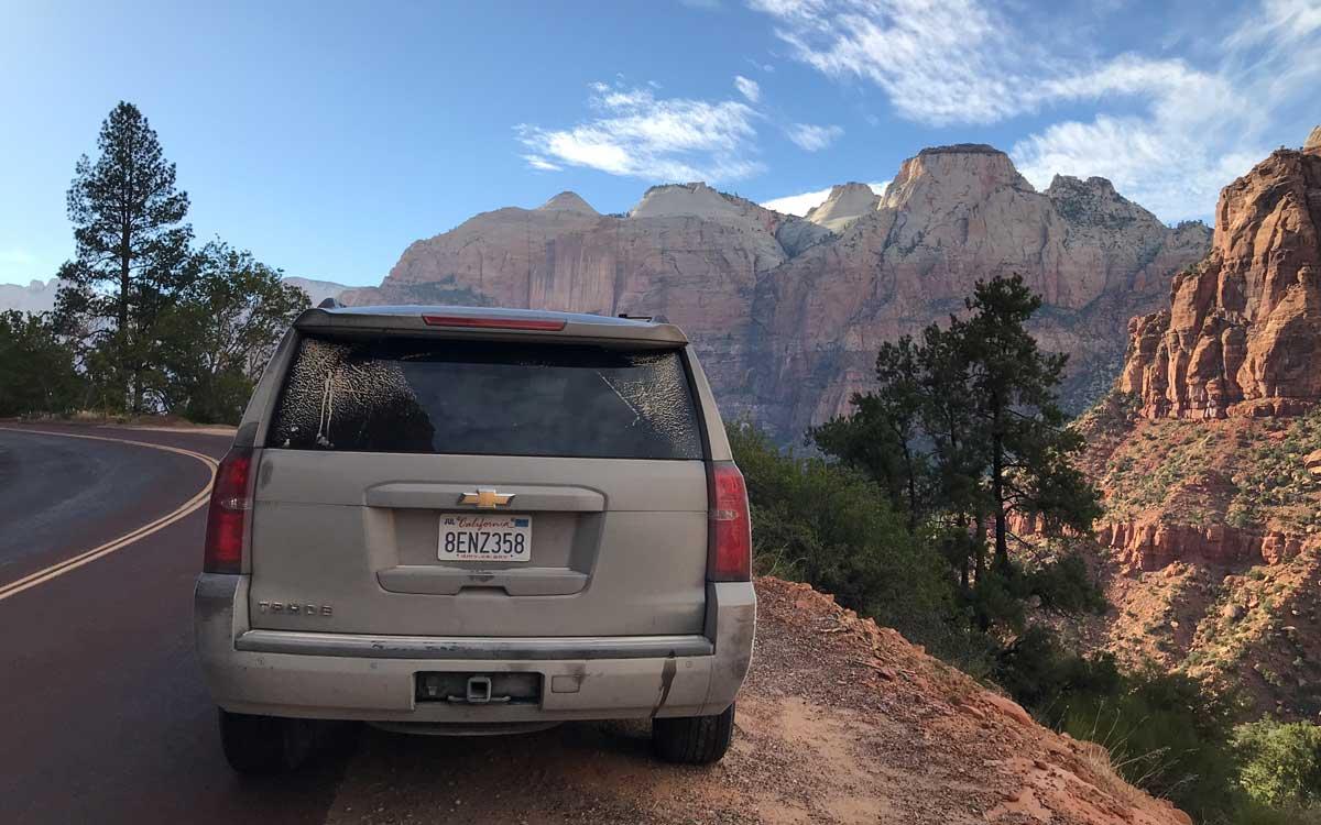 In den Bergen ist EVENaBAG ein besonderer Reisebegleiter