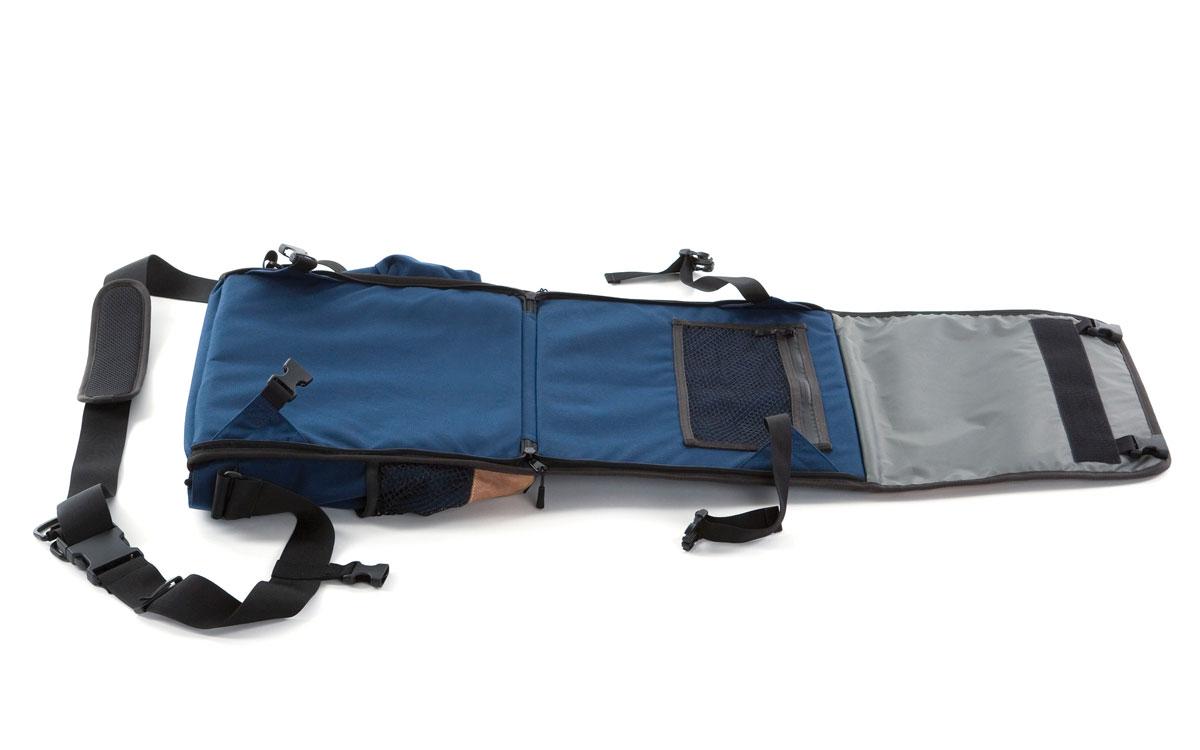 Eine Liegematte und Tasche