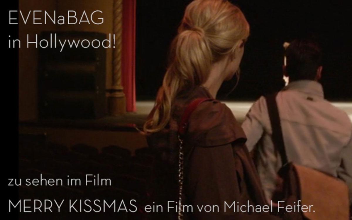 EVENaBAG zu sehen im Film Merry Kissmas