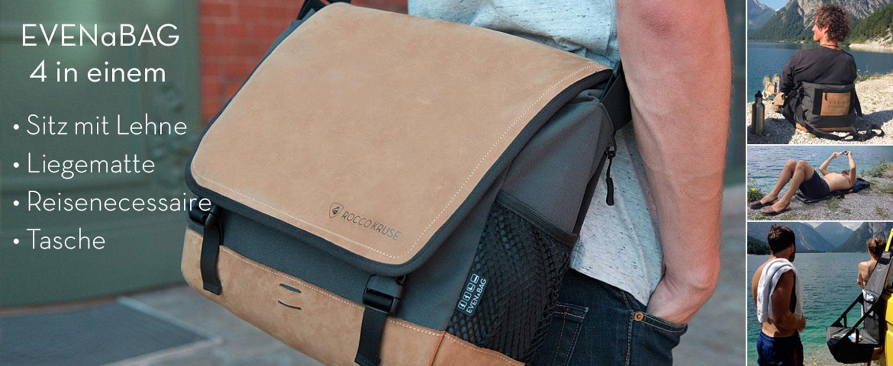 EVENaBAG Multifunktionstasche mit vier Funktionen