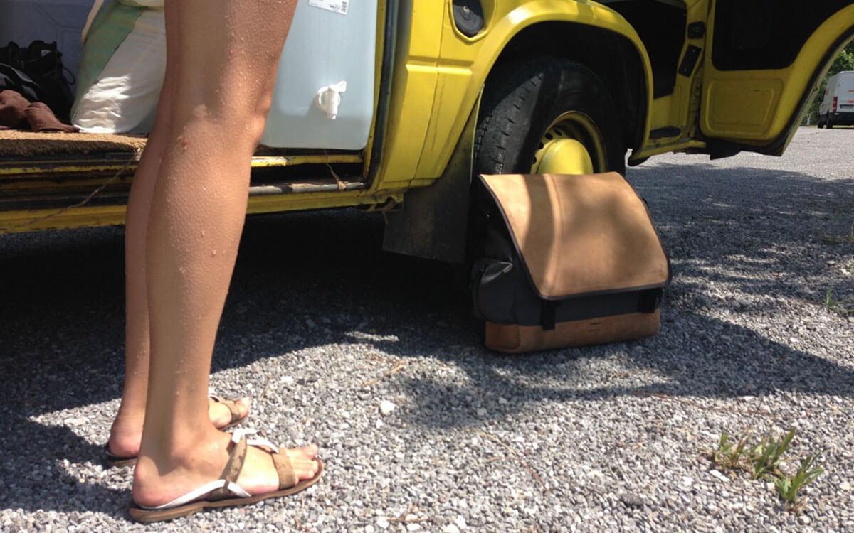 Outdoortasche als Camping Zubehör