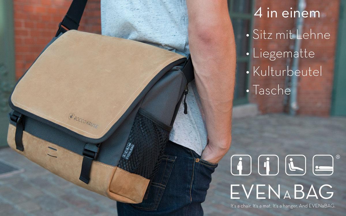 Eine Multifunktionstasche mit vier Funktionen