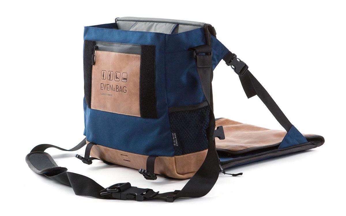 Multifunktionstasche, nutzbar als Campingstuhl